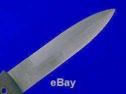 États-unis 2002 Blackjack Blackmoor Tactique Fighting Couteau Dague Avec Gaine