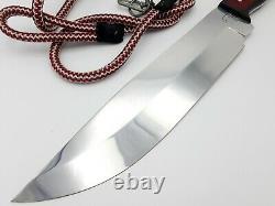 Fine Quality Handmade Rare D2 Outil De Chasse Bowie Poignard Couteau Randal Ar