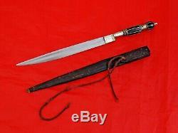 Finest Antique Bresilien De Lutte Contre Couteau Poignard Blade Amérique Du Sud Épée Gaucho