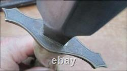 Finest Vintage 1977 Custom Carved Figural Boar-hunting Dagger Knife Signé Mjw