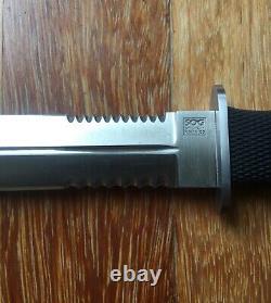 Gaine Kydex Vintage De Couteau De Poignard De Désert De Sog S25, Rare, Condition De Menthe