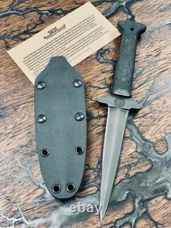 Gbrs Group X Winkler Knives Combat Dagger Noir