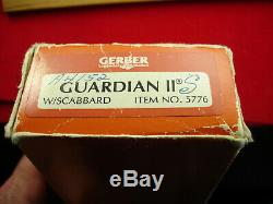 Gerber Guardian II Armorhide Commando Dague Couteau En Boîte