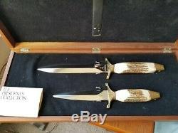 Gerber Legendary Blades Collection Présidentielle, Mark 1 & Mark 2 Couteaux, # 903