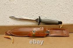Gerber Mark II Combat Dagger Mk2 Combat Couteau 1977 059846 Avec Poignée Gris