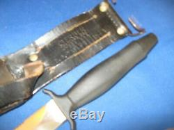 Gerber Mark II Combat Dague Couteau Mk2 Fihgting Série # 089813