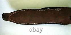 Gerber Mark II Couteau 1973 Late Viet Nam Era Serial # 032297 & Hone 14 Ppi Fine