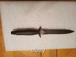 Gerber Mk 2 Couteau De Combat Avec Gaine En Cuir Début Des Années 1980