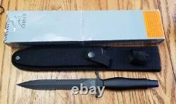 Gerber USA Mark II Dagger Survival Combat Combat Figurer Knife Withsheath 22-01874 Nmib