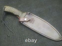 Hand Made 1095 Fighting Dagger Knife Par Mark Mccoun
