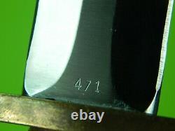 Japon Made Limited Boker Applegate Premier Combat Oss Lutte Couteau Poignard Gaine