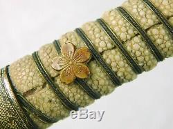Japonais Japon Ww2 Dague De Marine Officier De Marine Fighting Couteau Fourreau