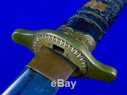 Japonisantes Japon Ww2 Dague Couteau Tanto Fighting Avec 2 Fourreau