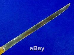 Japonisantes Japon Ww2 Dague Couteau Tanto Fighting Avec Fourreau 1