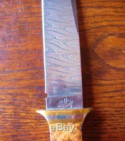 Jerry Kennedy Personnalisé San Francisco Damas Dague Couteau De Dirk 80 Knive