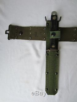 John Ek Couteau Dague Gaine Camillus Cas Utica M3 M6 Patriot Trading Militaire