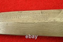 Kershaw Limited Edition 1986 Damas Double Edge Dagger Knife Withsheath Mint #28