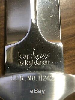 Kershaw Trooper 1007 Dagger Boot Couteau 1986 Dans L'affaire D'affichage