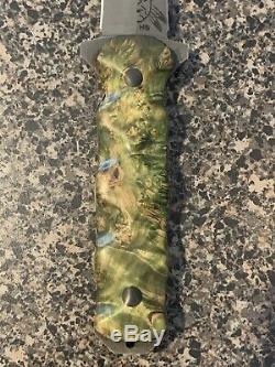 La Moitié Lames Visage Combat Dagger Couteau À Lame Fixe En W Gaine Kydex