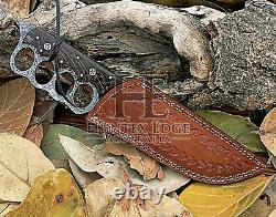 Lame De Damas Fabriquée À La Main Sur Mesure Huntex, Manche En Bois De Senne, Couteau À Tranchée Longue De 340mm
