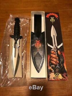 New Trek Vintage Stock Couteau Étoile Klingon United Cutlery Uc726 Phoenix Dagger