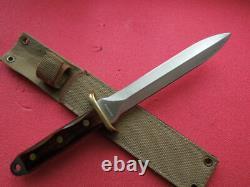 Orig. Combat Dagger Fabriqué Par Magnum 440 Stainless Steel 80/90e Grand Couteau