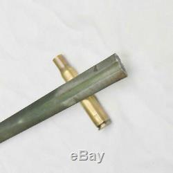 Pointe Unfinished Couteau De Combat De L'époque Ww2 / Dague Ère Ww1 Us M1913 Sa Cavalerie Sabre