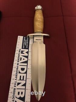Randall Made Couteaux Tom Cliton Spécial Daga Couteau-poly Pearl-gaine Mint