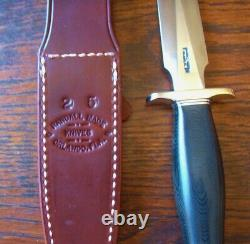 Randall Modèle 2-5 Ss Blk Fighting Stiletto Dagger Nouveau Couteau Couteaux