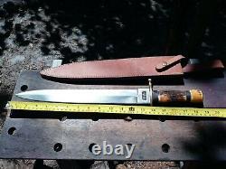 Rare Colt Ct822 Couteau À Double Bord Avec Gaine Rare X Grande Dague. 19 Sharp