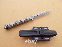Rare Discontinué Microtech Ado Hollow Handle Fighting Knife Dagger