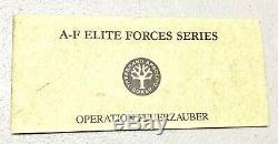 Rare Vintage Boker Allemagne Forces Us Solingen Elite Le Boot Dague Couteau Mint