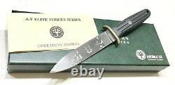 Rare Vintage Boker Solingen Allemagne A-f Elite Forces Le Boot Dagger Couteau Menthe