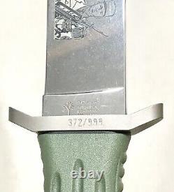 Rare Vintage Boker Solingen Allemagne A-f Elite Forces Le Boot Dagger Knife Mint