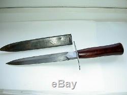 Rare Ww1 Français Fighting Couteau Dague