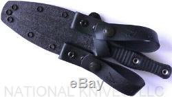 Rmj Tactique Raider Dague Couteau Noir G-10 Cpm-3v Lame Revendeur Agréé
