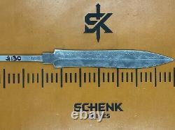 Roman Dagger Damascus High Carbon Steel Knife Blade Blank Billet 30