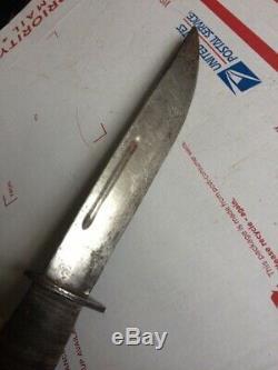 Seconde Guerre Mondiale Egw Combat Couteau Dague Ww2 Scarce Type