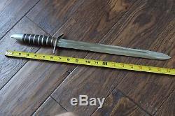 Seconde Guerre Mondiale M3 Style Grand Couteau Combats Dagger Custom Theater Fabriqué À Partir De M1 Baïonnette