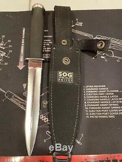 Sog Desert Dague Couteau Discontinued