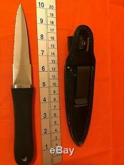 Sog Spécialité Couteaux Seki-japon S14 Pentagone Combat Dagger Boot Couteau, Gaine