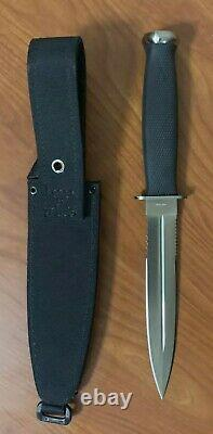 Sog Specialty S25 Seki Japan Desert Dagger Fixed Blade Knife & Gaine Circa 1991