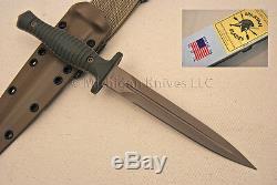 Spartan Blades V-14 Dague Couteau Cpm S35-vn Ss Fde / Vert G10 Avec Tan Kydex