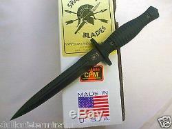 Spartan George V-14 Dagger À Lame Fixe Couteau Fighting Kydex Gaine Nouveau
