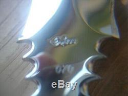Superbe Anvil Personnalisée Buck 970 Dague Couteau Girafe Os Poignée Nickel Argent 976