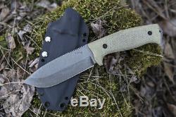 Survivial Couteau Personnalisé Crusher Lkw