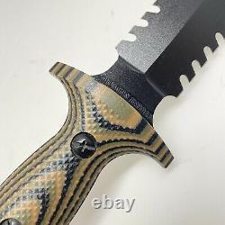 Treeman Couteaux Ultra Combat Dagger Rare