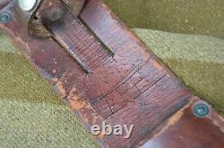 U. S. Ww2 Case V-42 Uss Omaha Commando Couteau De Combat Poignard Real Fssf Marine Armée