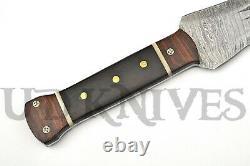 Ud Mesure La Main De Damas En Acier Massif Fuller Dague Couteau Rams Épée Corne 13
