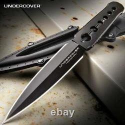 Undercover Cia Stinger Dual Edge Dagger Spike Full Tang Boot Knife Uc3344 Kydex